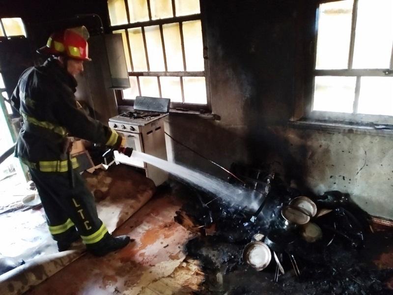 На Херсонщине случился пожар с человеческими жертвами