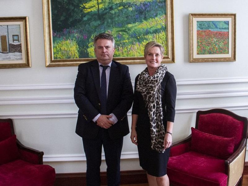 В Херсон їде посол Фінляндії
