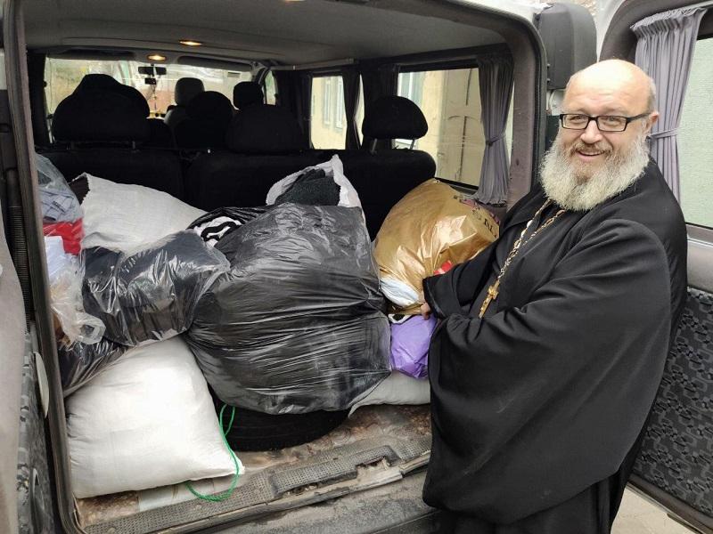 В Голой Пристани проходит благотворительная акция при церкви