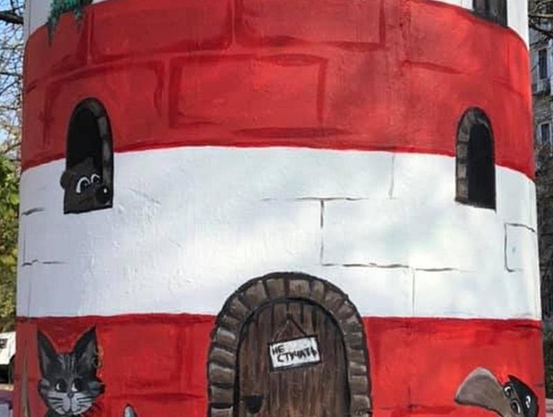 В Херсоні з'явився рукотворний маяк