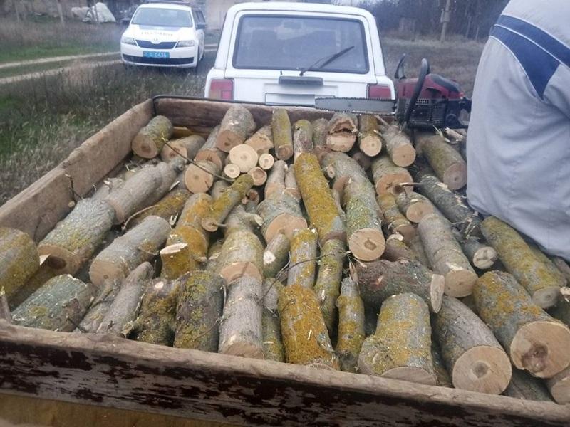 Новокаховські поліцейські затримали лісових браконьєрів
