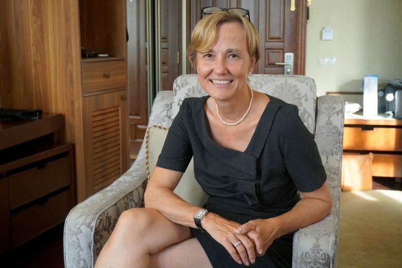 В Херсон приехала посол Германии Анка Фельдгузен