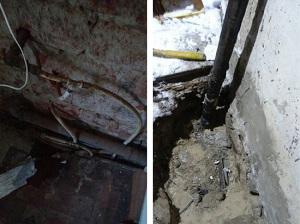 Під Херсоном викрили три нелегальні газопроводи