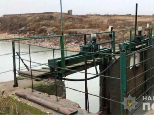 На Херсонщині правоохоронці закрили насосну станцію, що подавала воду до окупованого Криму