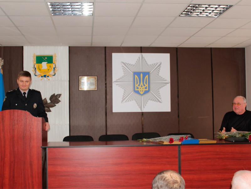 Голова Олешківської райради  привітав  ветеранів силових структур