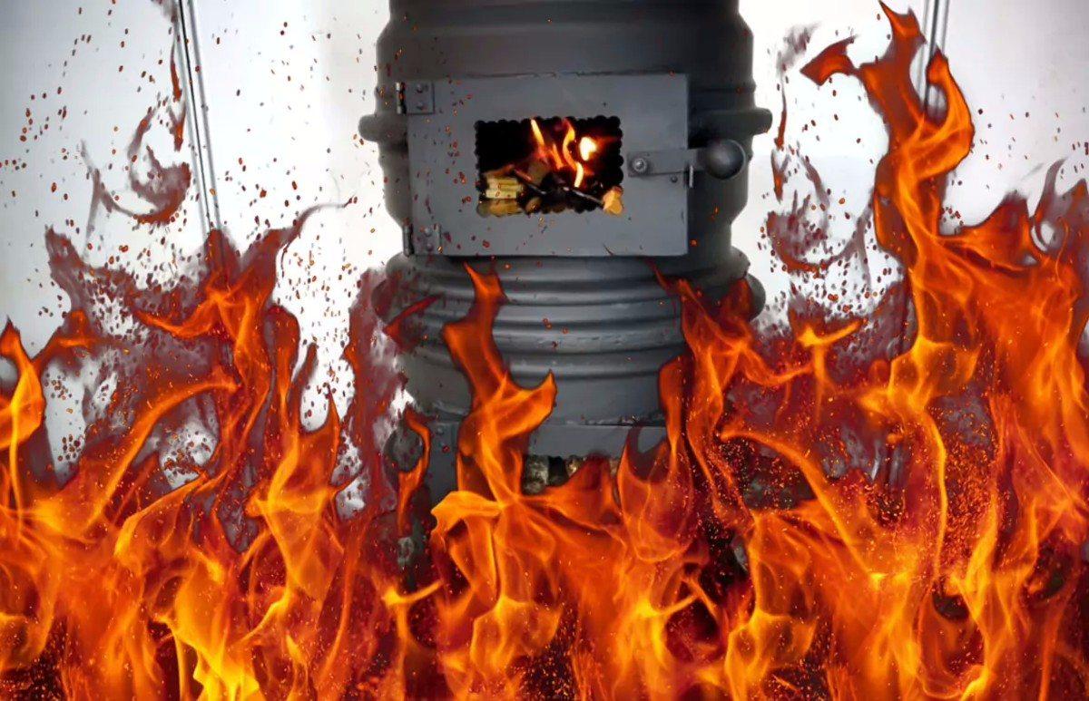 На Херсонщине в дачном доме обнаружено обгоревшее тело хозяина