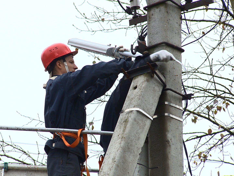 Где в Херсоне будет временно отсутствовать уличное освещение