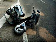 На Херсонщине разбился невезучий мотоциклист