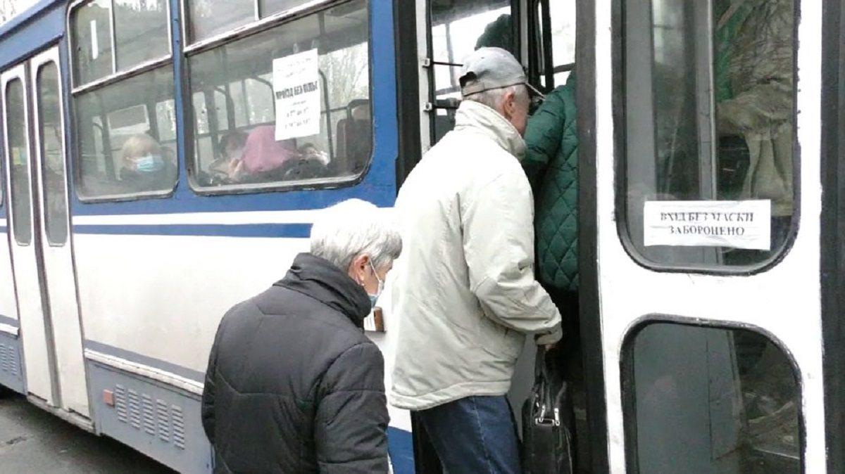 В Херсоне отменены льготы на проезд в общественном транспорте