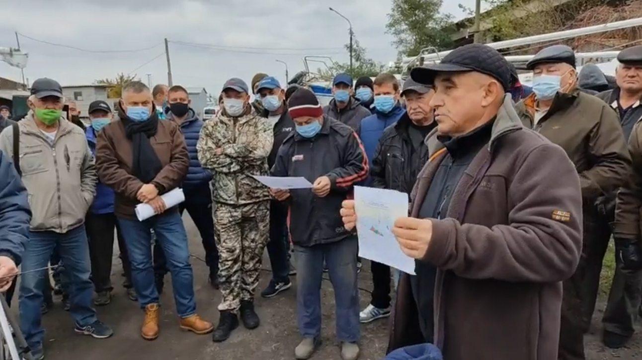 Жители Скадовского района против передачи острова Джарылгач национальному парку