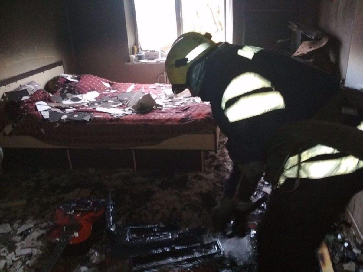 В Херсонской области женщина погибла при пожаре, мужчина обгорел