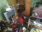 В центре Херсона случился пожар в квартире