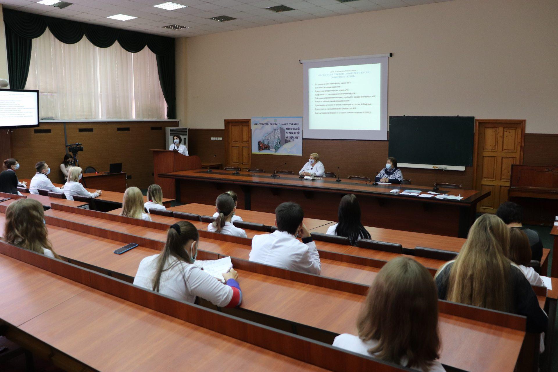 Студенти-медики ХДУ підвищують свій професійний рівень
