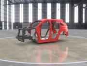 Plasan создал автомобильный кузов из углепластика