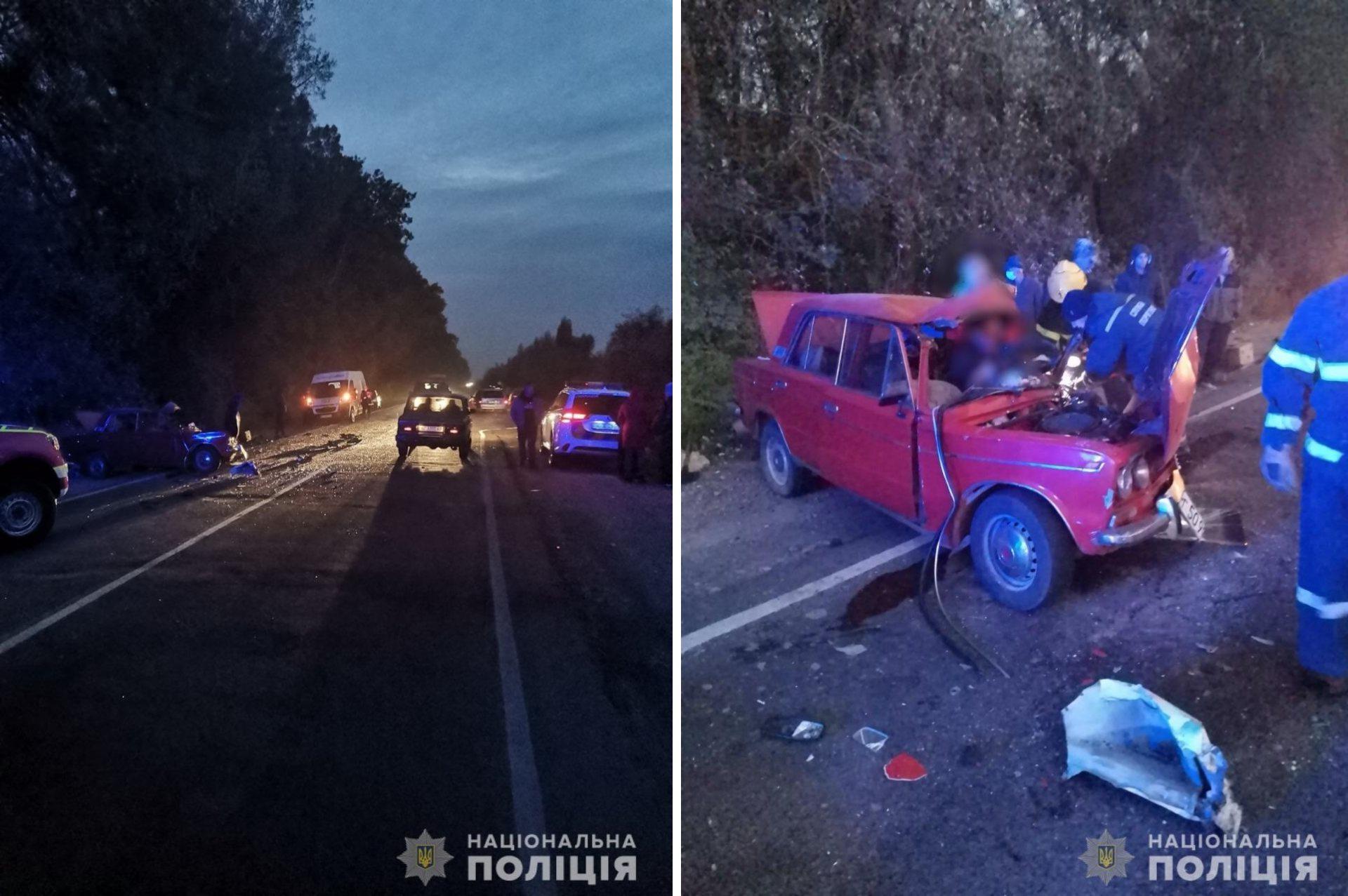 В Херсонской области нетрезвый водитель без прав совершил смертельное лобовое столкновение