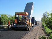 При ремонті дороги Мар'янське ‒ Берислав на Херсонщині скоєно порушень майже на 10 мільйонів гривень