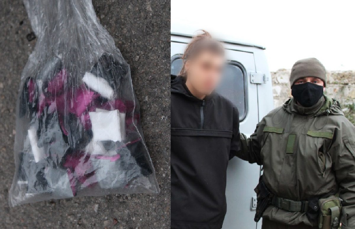 Во время поисков пропавшего молодого человека херсонские нацгвардейцы поймали наркодилера