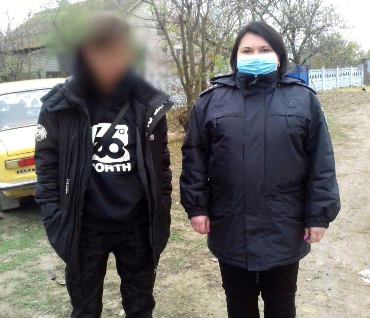 На Херсонщине полицейские разыскали 16-летнего парня, пропавшего в Новой Каховке