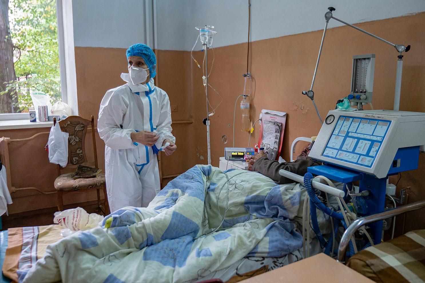 У Новокаховській лікарні на Херсонщині спростували інформацію про нестачу кисню