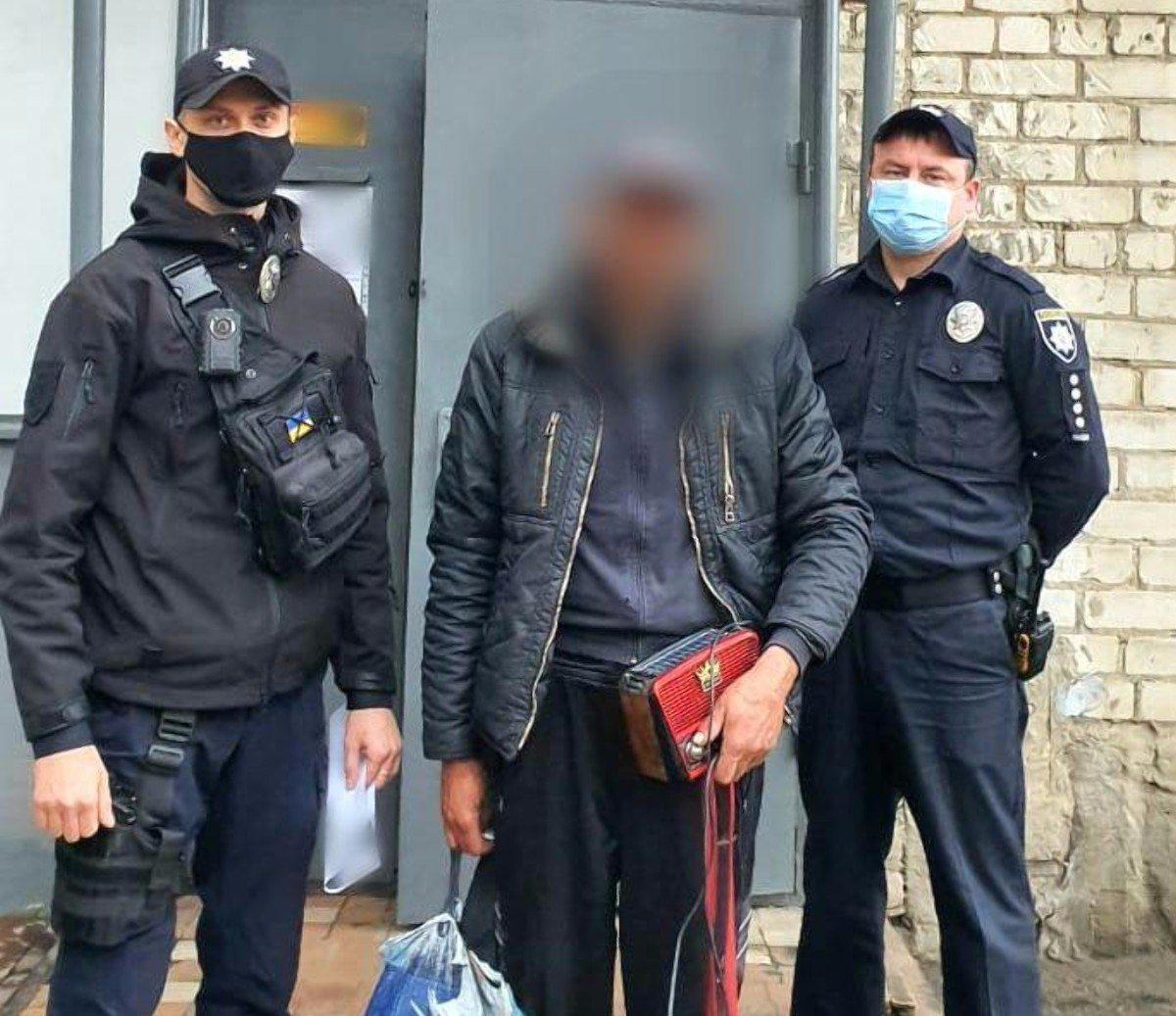 В Херсоне полицейские устроили в центр для бездомных дебошира, которого сожительница выгнала из дома