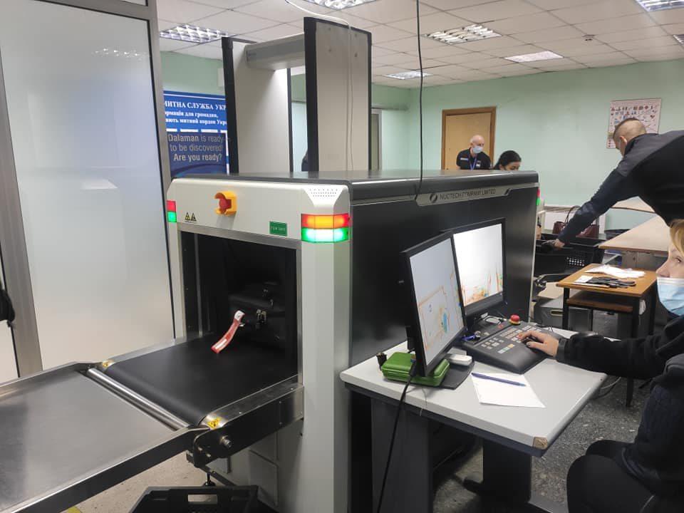 Херсонський аеропорт отримав нове обладнання