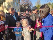 Открыта новая спортивная площадка для деток Генического района