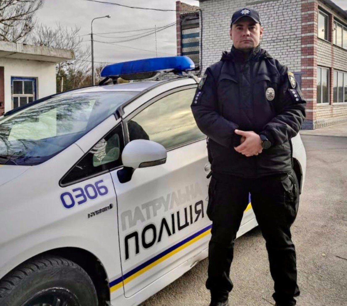 На Херсонщине капитан полиции спас жизнь пенсионерке, у которой случился инсульт