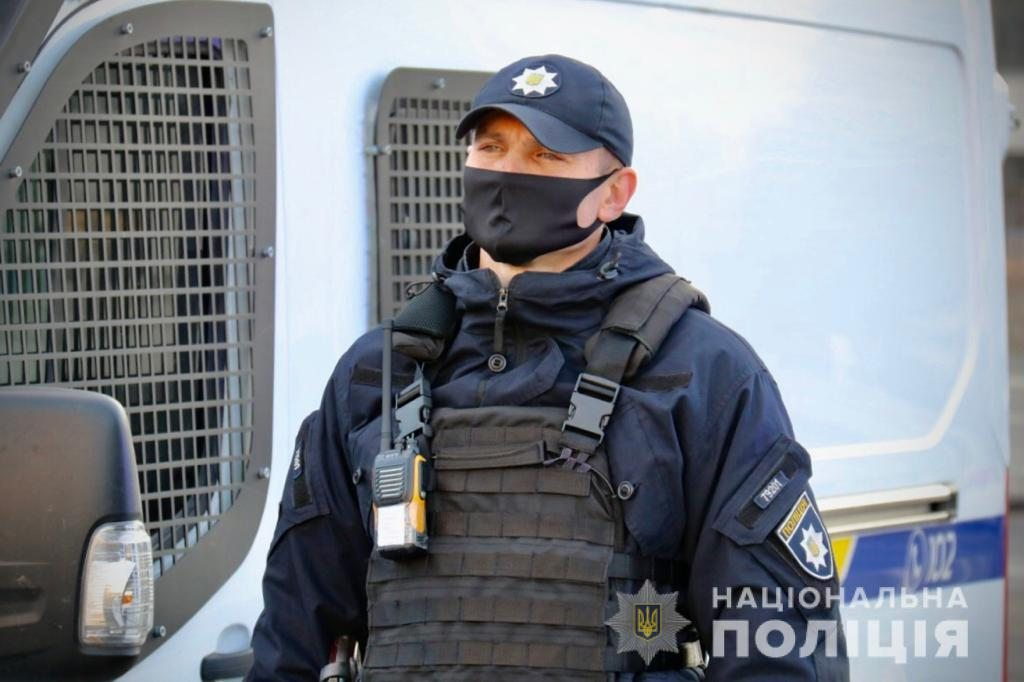 Поліція відпрацьовує курортний район Херсонщини