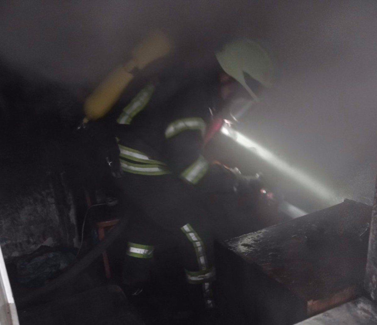 Херсонские спасатели потушили пожар в жилом доме