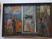 В Херсоне открылась выставка известного украинского художника и молодой поэтессы