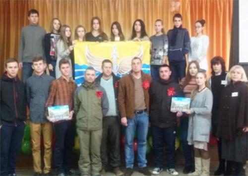 Новокаховська школа зустрічає воїнів АТО