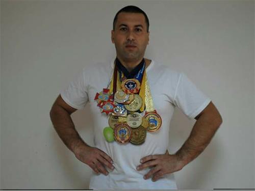 Михаил Олейник: гиревой спорт в Херсонской области находится в подвешенном состоянии