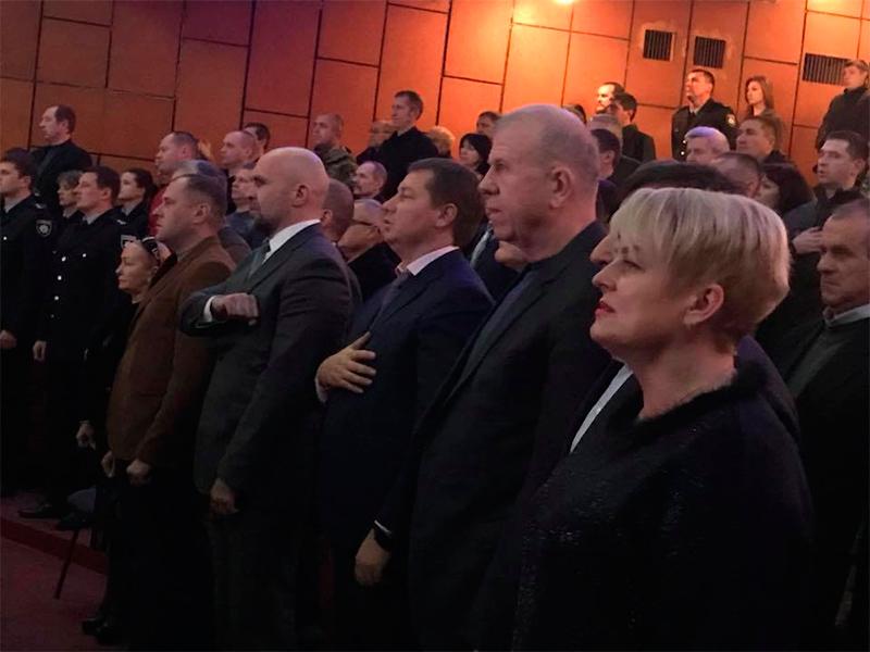 Ветеранів МВС та Нацполіції привітали у Херсоні