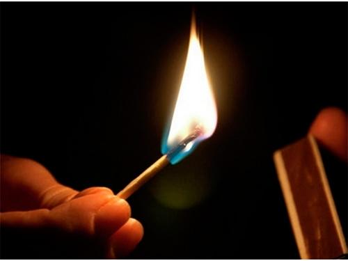 Как на Херсонщине сельчанка огнем умылась