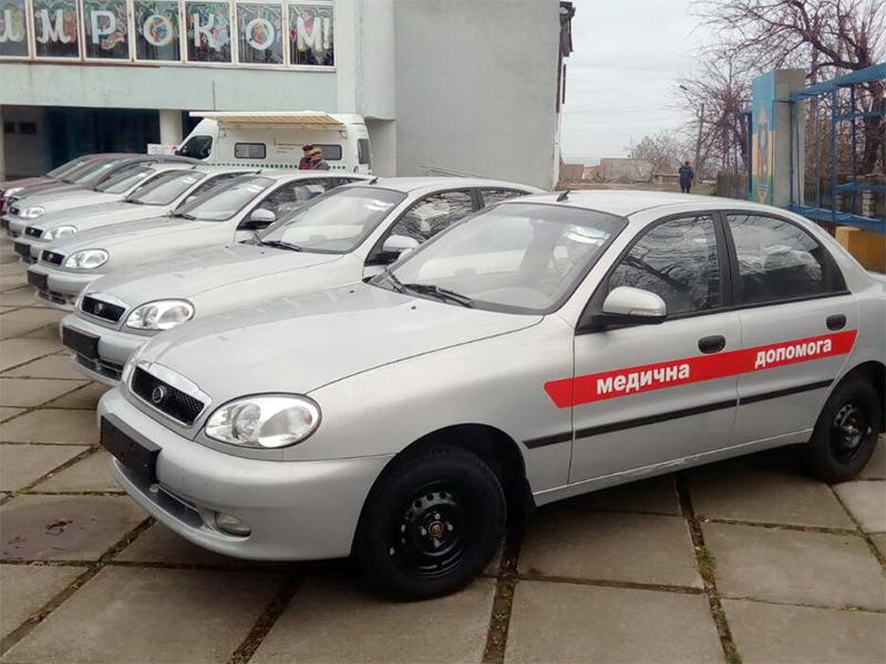На Херсонщине услугами мобильного сервисного центра МВД воспользовались сельские врачи
