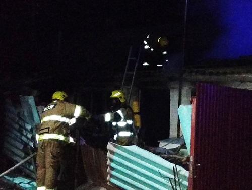 В Херсонской области мужчина сгорел в своём доме