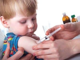На Херсонщині досягнуті високі показники охоплення дітей щепленням проти дифтерії