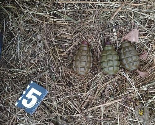 Херсонская полиция задержала жителя Очакова по делу о подрыве гранаты