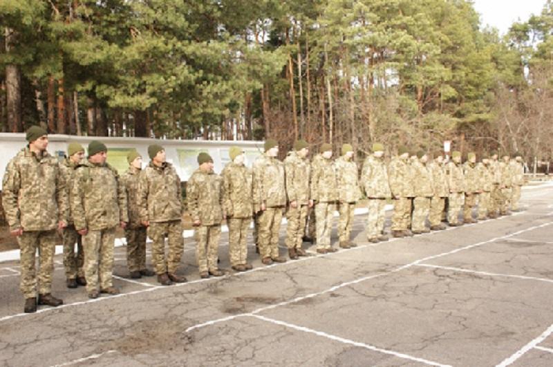 В Олешківській райраді привітали військових