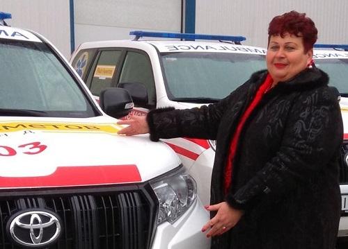 Чонгарська сільрада отримала новий автомобіль екстреної меддопомоги