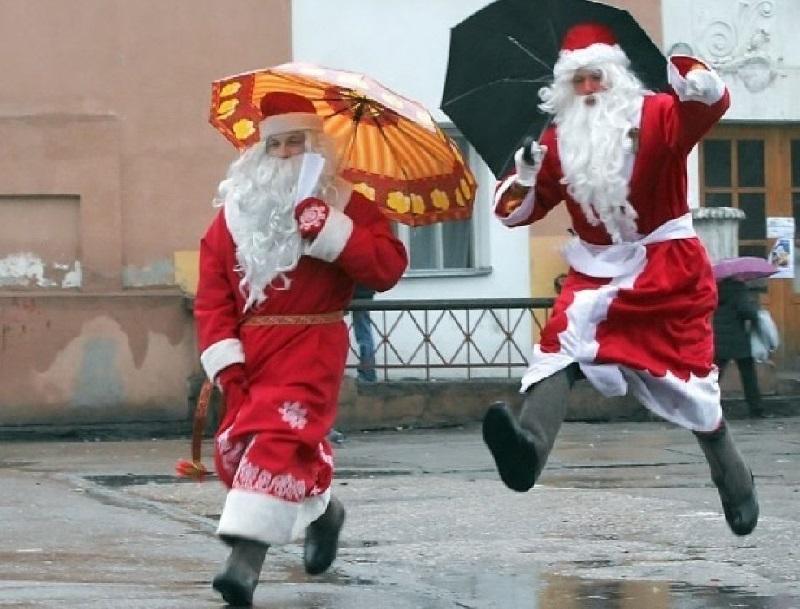 Не праздничная погода к Новому году ожидает херсонцев