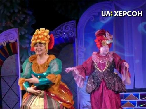 У Херсонському ляльковому театрі відбулась благодійна вистава