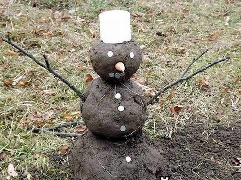 Снігу на Херсонщині у новорічну ніч не буде