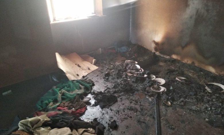 Двое мужчин погибли на пожаре в Херсонской области