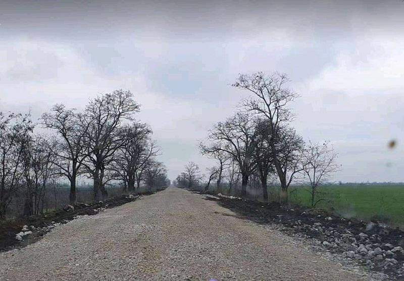 В Херсонской области отремонтировали аварийную дорогу