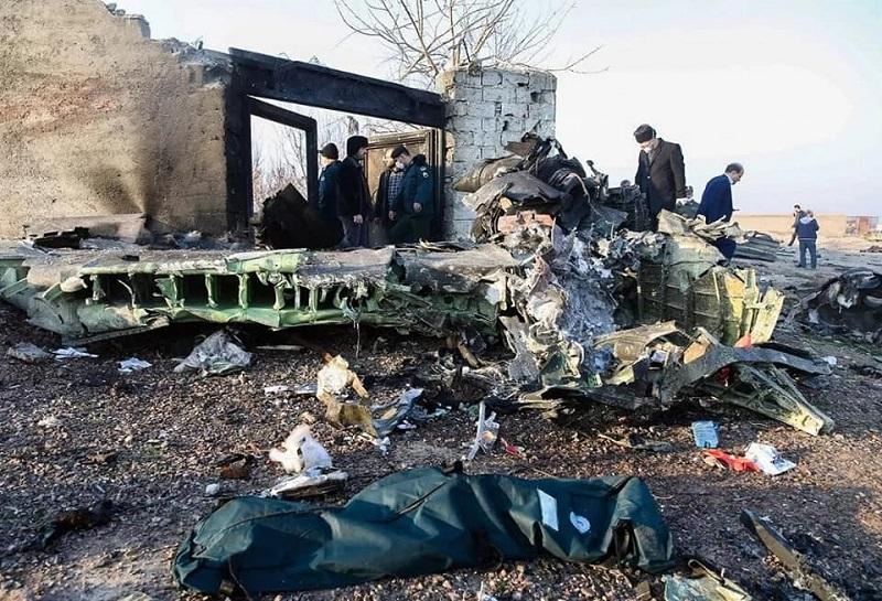 В Иране потерпел катастрофу самолёт Международных украинских авиалиний