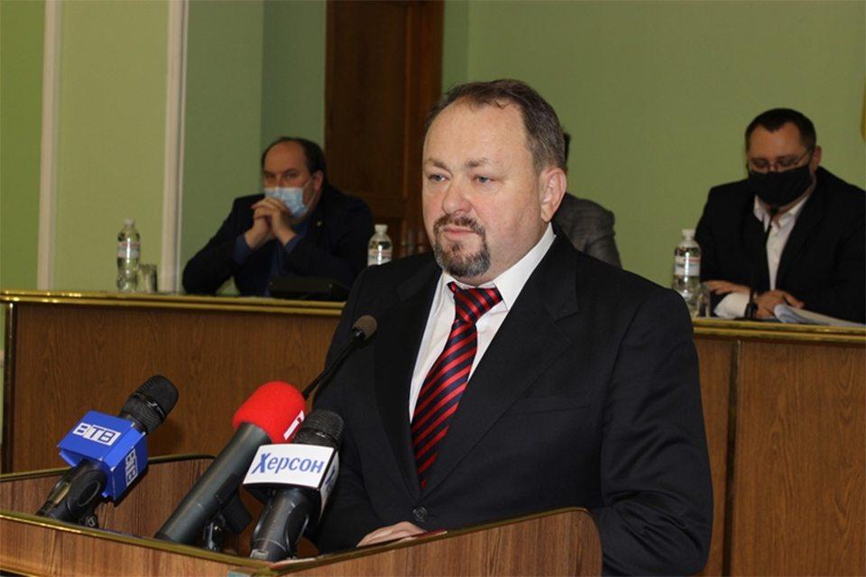 Голова облради консолідує зусилля депутатів заради розбудови Херсонщини