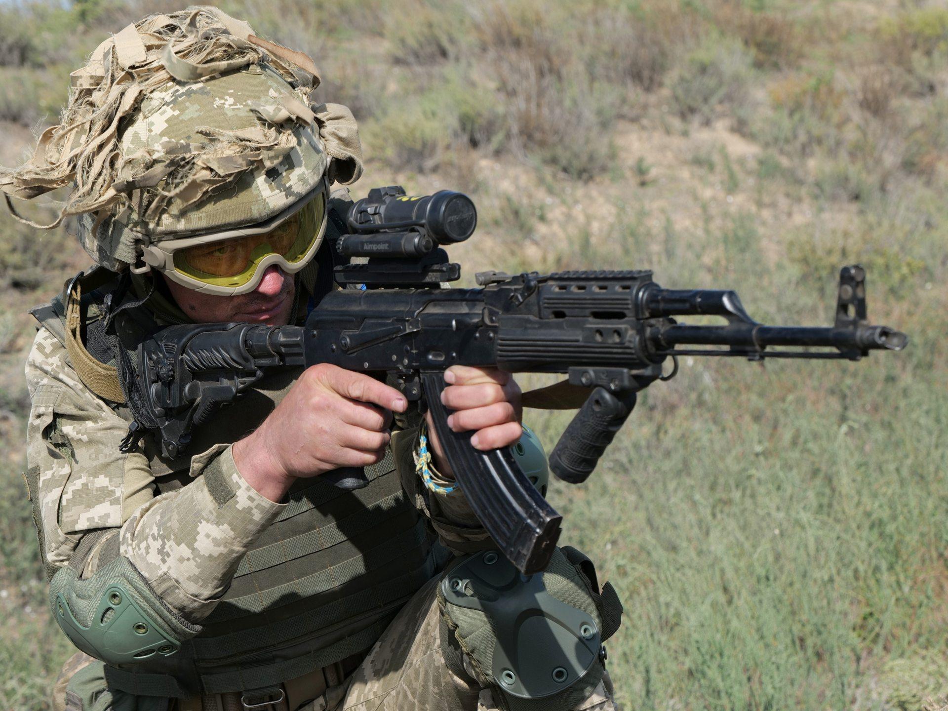 В Херсонской области прошли учения десантников