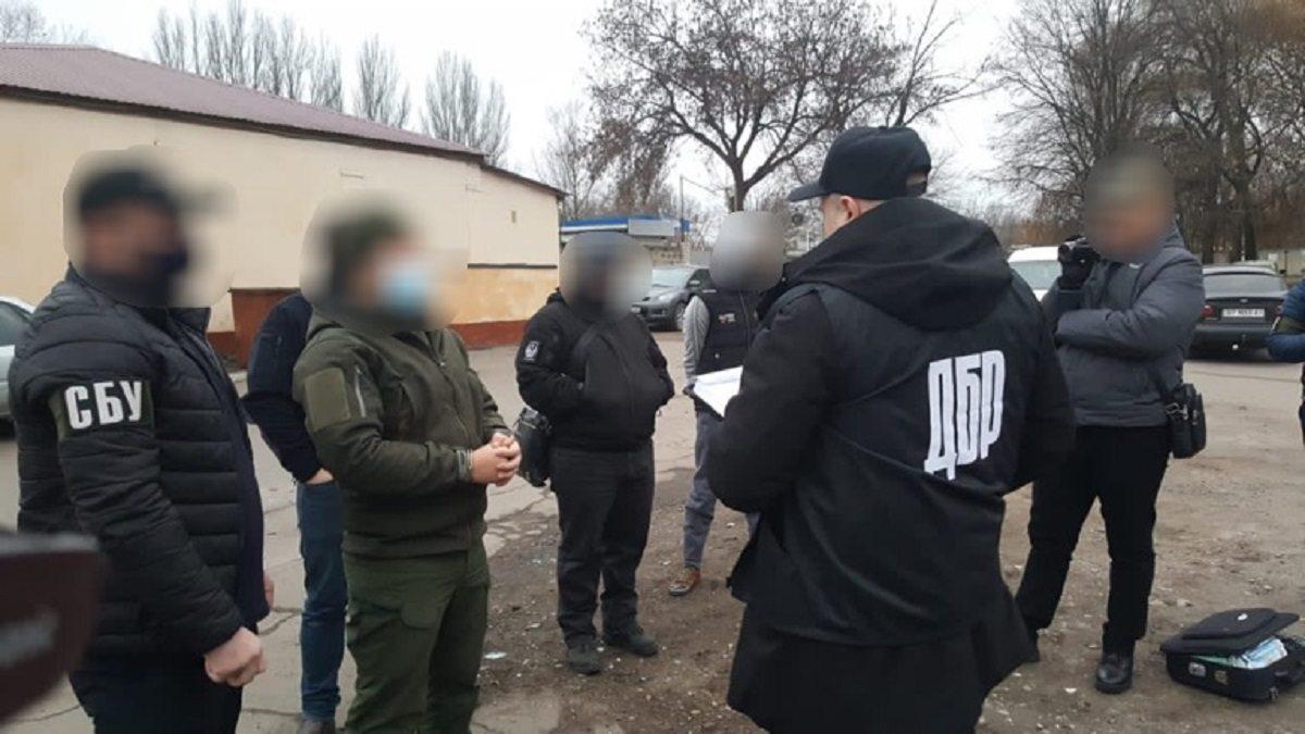 На Херсонщине задержали на взятке командира роты ВСУ