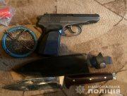 Полицейские изъяли у херсонца арсенал оружия и взрывчатки